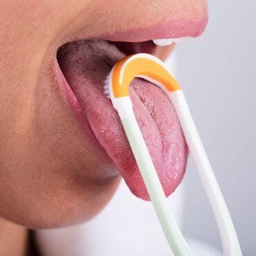 تمیز کردن زبان
